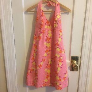 Lilly Pulitzer classic halter dress