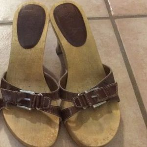 😍 4/$50 MIA slides sandals heels leather upper