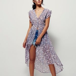 Free People Lady of Avalon Tunic