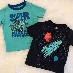 2 Carter's Supersoft Tees