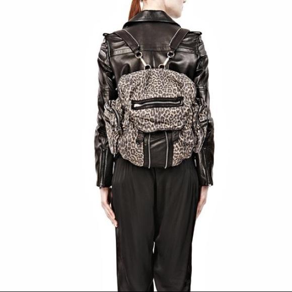 46e8c5ca14 Alexander Wang Handbags - Alexander wang leopard print Marty backpack
