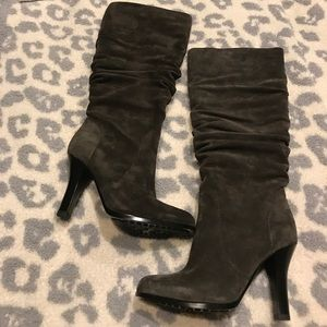 NWOT Sofft Belfast suede slouch boots