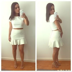 Off White Zara Mini Skirt