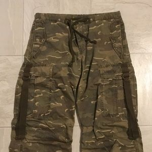 Uniqlo camouflage low rise pants