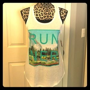 "Racerback Trail ""Runner"" tank top"