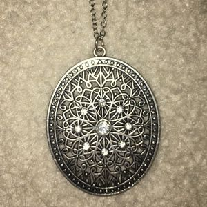 Jewelry - Long Fashionable Silver Necklace