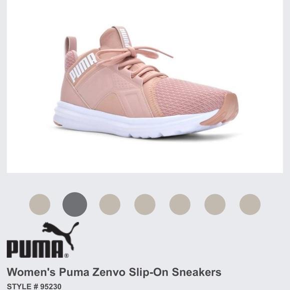 PUMA Zenvo JR Girls' Sneakers | Products in 2019 | Pink puma