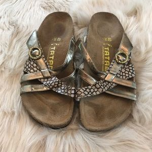 Tatami by Birkenstock Gold Sandals