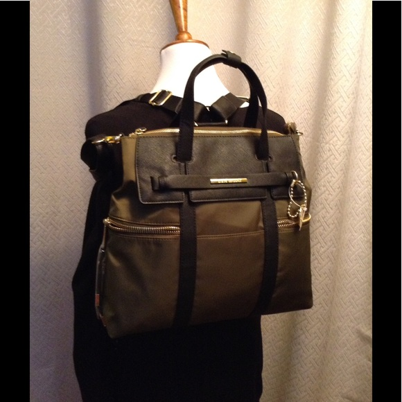 ea6535fed8a2 Steve Madden Convertible Backpack in Green
