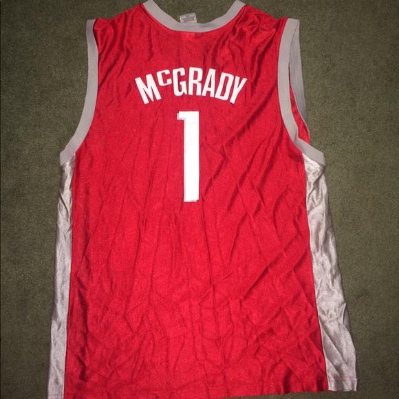Tracy Mcgrady Houston Rockets NBA Jersey. M 59a361f7f09282f75a07b9a7. Other  Shirts ... 736bf15d4