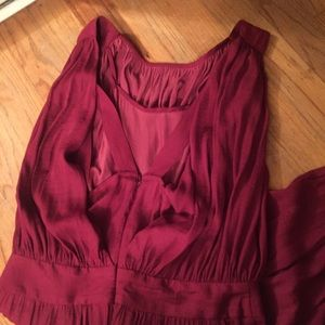 4f3a14c6a719 Anthropologie Pants - Anthropologie Draped Garnet Jumpsuit