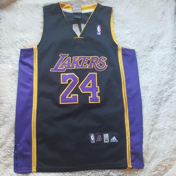 Adidas black Lakers Kobe Bryant jersey #24 size 44