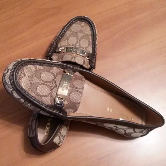 d0da7440311 Coach Shoes - NWOT-Coach Signature Jacquard Loafers