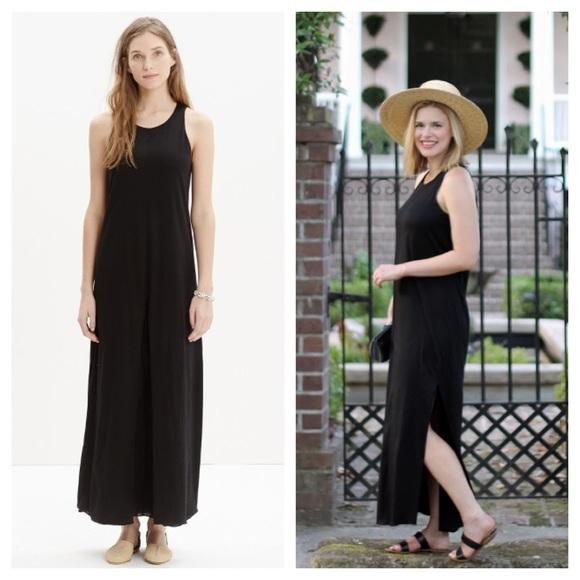 13942b55076 Madewell Dresses & Skirts - Madewell / Tank Maxi dress in black