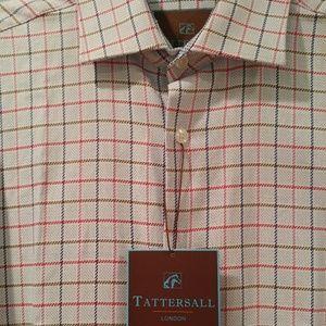 🆕Tattersall London men's button down shirt.