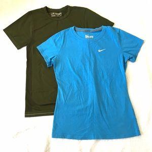 Nike & Champion Short Sleeve T-Shirts Bundle of 2