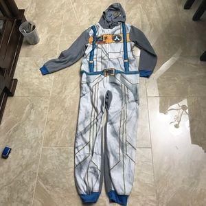 Boys astronaut onesie pajama