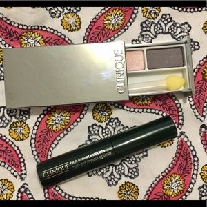 Clinique: Eyeshadow Duo + Adesse Nail Polish