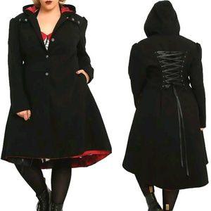 ISO Torrid Hooded Corset Coat 4x
