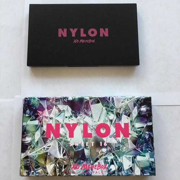 Makeup New In Box Nylon X Memebox Sweet 16 Palette Poshmark