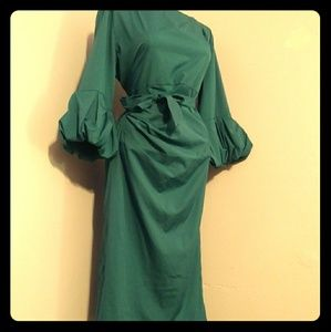Dresses & Skirts - Green Wrap Dress