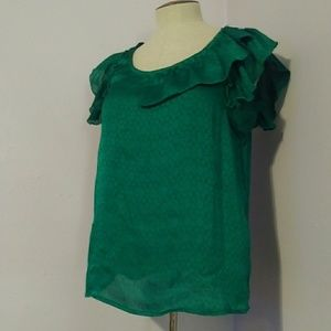Tops - Emerald Green Top