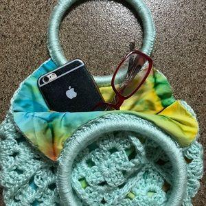 Handbags - Lady's Crochet Handbag
