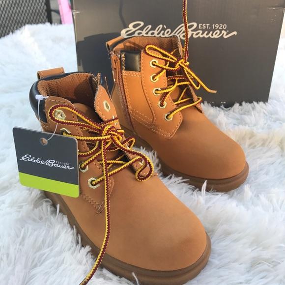 New Eddie Bauer Kids Boots Lace Up