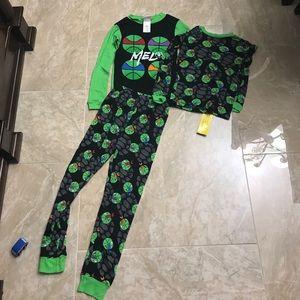 Boys Ninja turtles PJ set