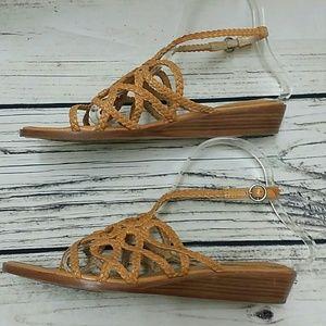 2b8b9deb7ca Frye Shoes - Frye Avery Braided Sandals