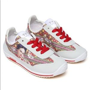 New Frida Kahlo Tennis Shoes High Quality White