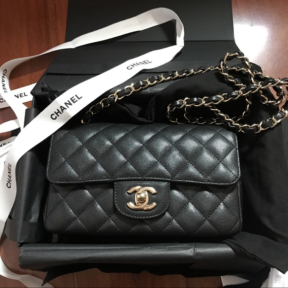 95c5e95938ea5e CHANEL Bags | Mini Cf Bag | Poshmark