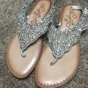 Shoes - Glitzy Sandals