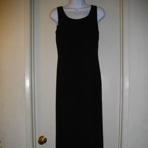 Black Adrianna Papell Maxi Sleeveless Dress 4P