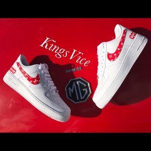 03a1b5adf2a Nike Shoes - Custom Supreme x Louie Vuitton Air Force 1