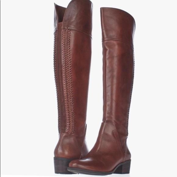 e2821bcb739 Vince camuto shoes new bendra riding boot russet poshmark jpg 580x580 Camuto  bendra