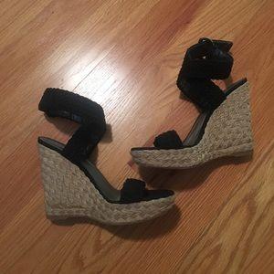 Stuart Weitzman Shoes - Stuart Weitzman Black Espadrilles