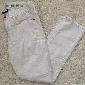 Size 26 earnest sewn cropped skinny jeans