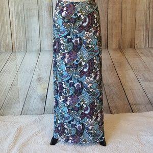 SUSINA vintage maxi pencil skirt.