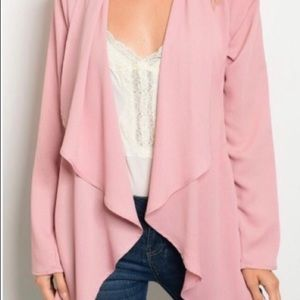 Blush Waterfall Cardigan
