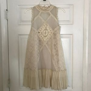 Free People Angel Lace Dress