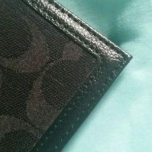 coach bags black wallet check register poshmark