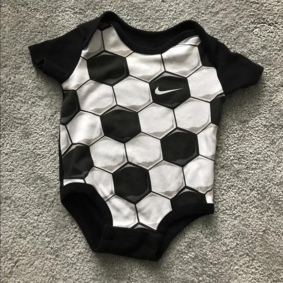 817098e3a8 Nike Shirts & Tops | Euc Soccer Ball Onesie | Poshmark