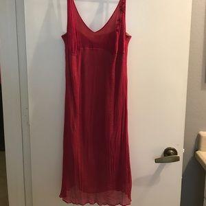Beautiful 100% silk dress.