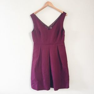 J crew purple formal dress
