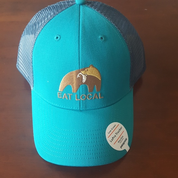 e5ef9cad29 Patagonia eat local trucker hat
