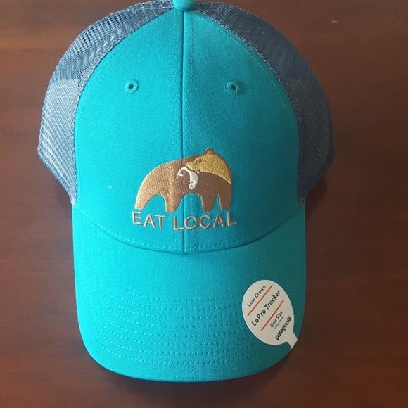 fde343e47 Patagonia Accessories | Eat Local Trucker Hat | Poshmark
