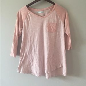 maurices baseball style tshirt size S