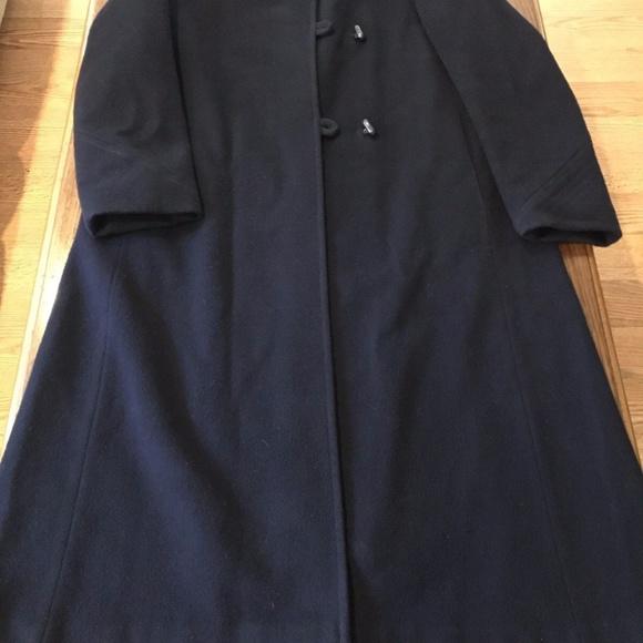 93789532addc5 Forecaster of Boston Jackets   Blazers - FORECASTER OF BOSTON Navy Blue  Wool Coat