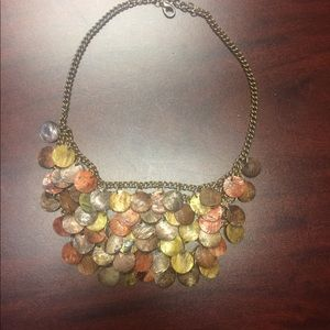 Jewelry - Earth Tone Beaded Statement Necklace